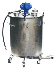 Bulk Stainless Steel Processing Tank
